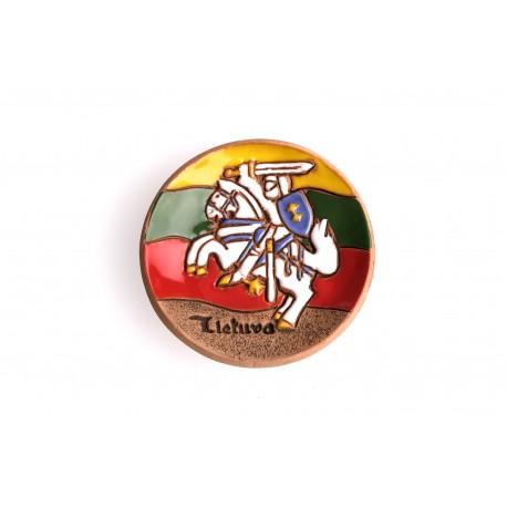 Keramikinis magnetas su vyčiu