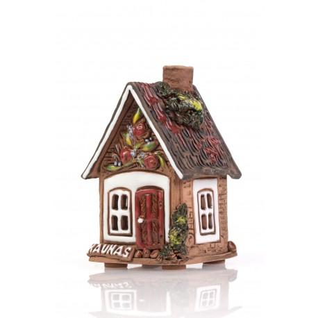 Keramikinis namelis - žvakidė