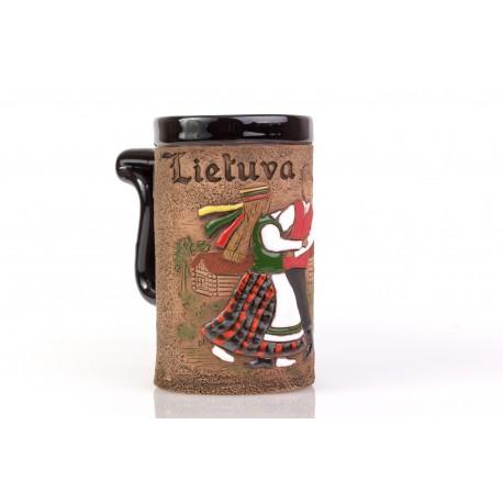 """Keramikinis bokalas """"Lietuva"""""""