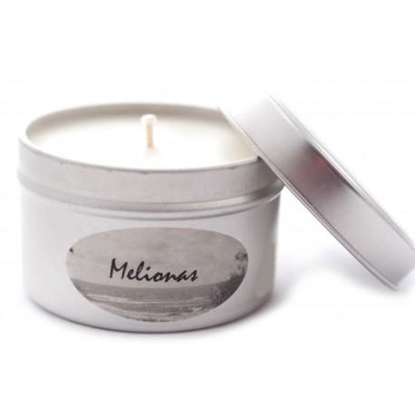 """Natūrali sojų vaško žvakė """"Melionas"""""""