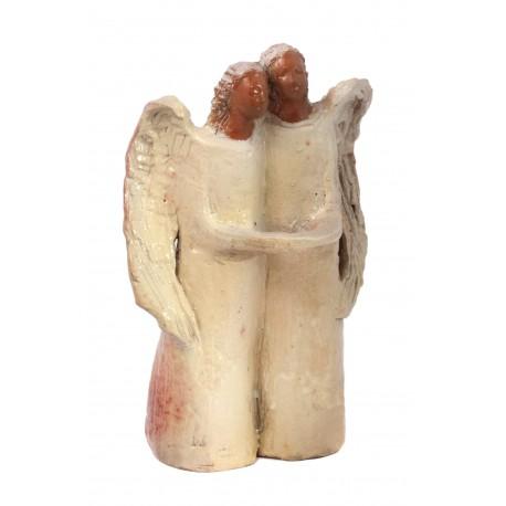 Keramikinė angelo pora