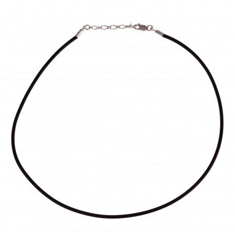 Odinis lankelis su reguliuojamu sidabriniu grandinėlės užsegimu