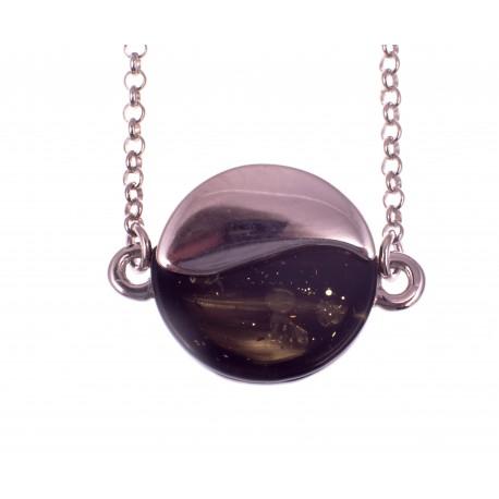 Amber - silver bracelet
