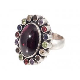 Puošnus sidabro žiedas