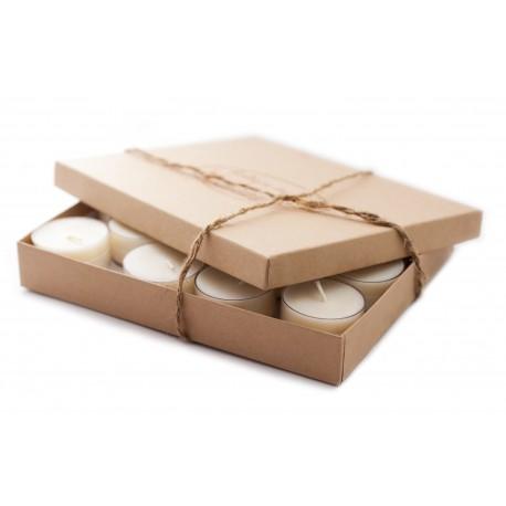 Arbatinių žvakių rinkinys dėžutėje