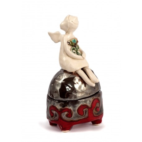 Autorinė keramikos dėžutė
