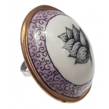 Porcelianinis žiedas