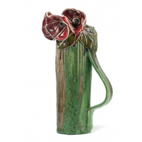 Keramikinė rankų darbo vaza