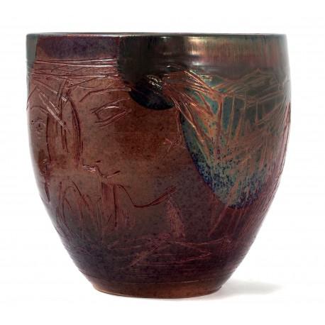 Zema keramikine vaza