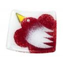 """Vitražinio stiklo lėkštelė """"Paukščio skrydis"""""""