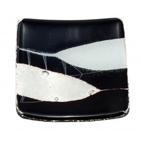 Vitražinio stiklo lėkštelė